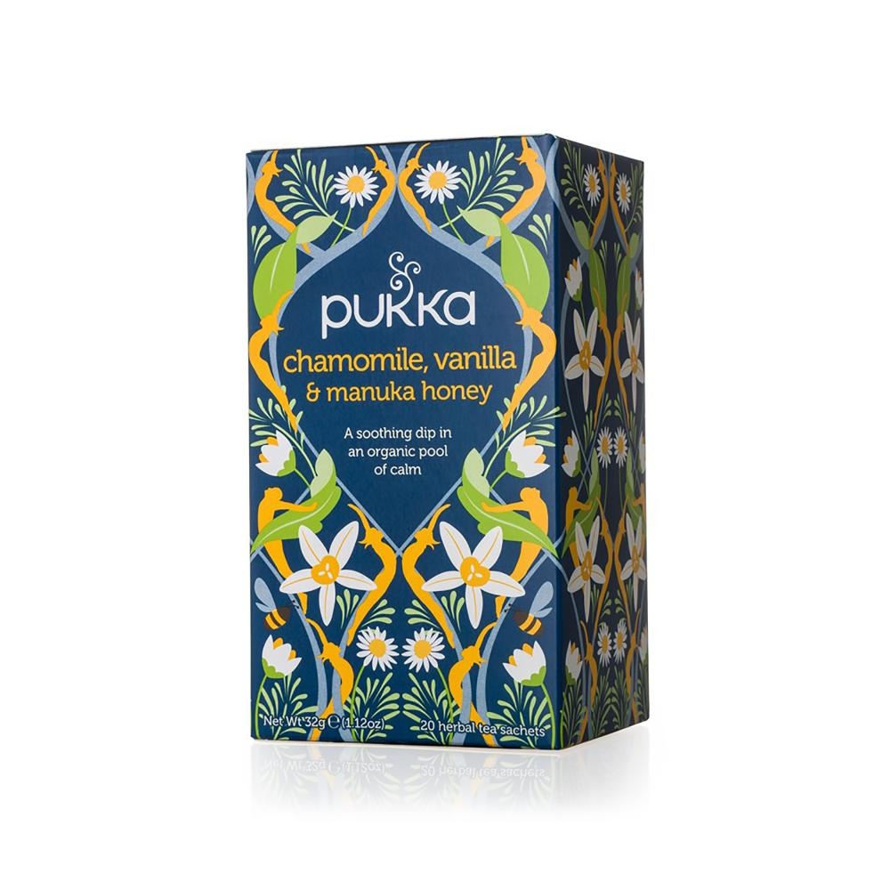 Image of   Chamomile, Vanilla & Manuka Honey, 20 breve