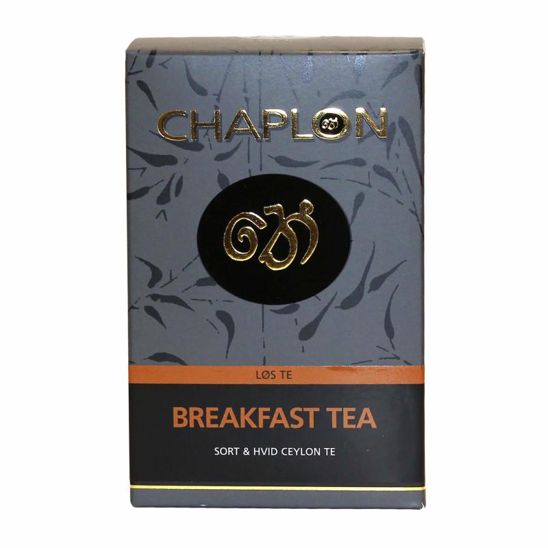 Breakfast Te fra Chaplon Tea i refill æske