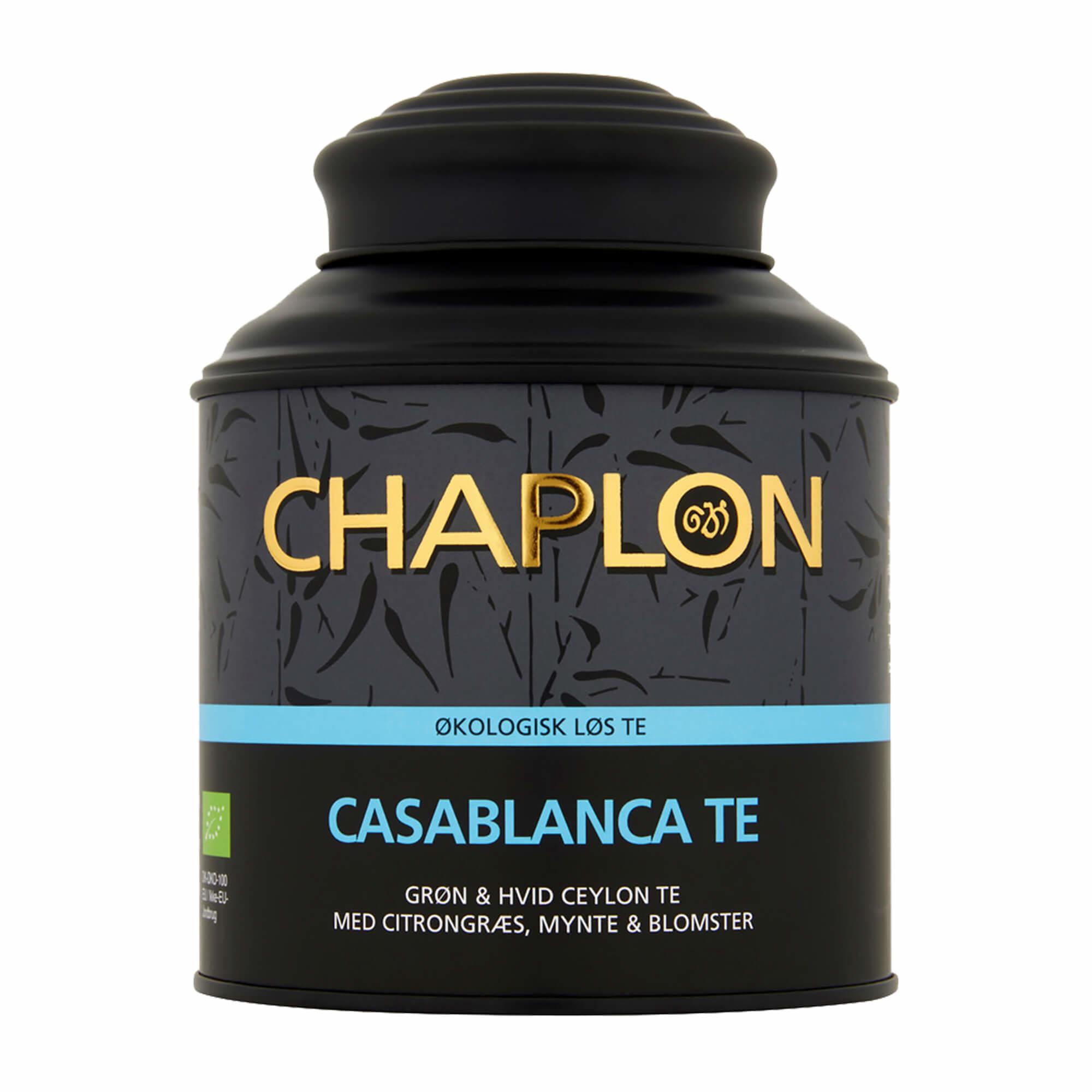 Image of   Chaplon Casablanca Te - 160 gram dåse