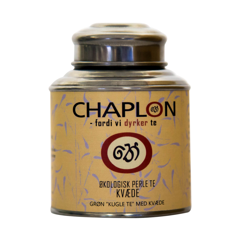 Image of   Chaplon Grøn Kvæde Perle Te, 80 gram