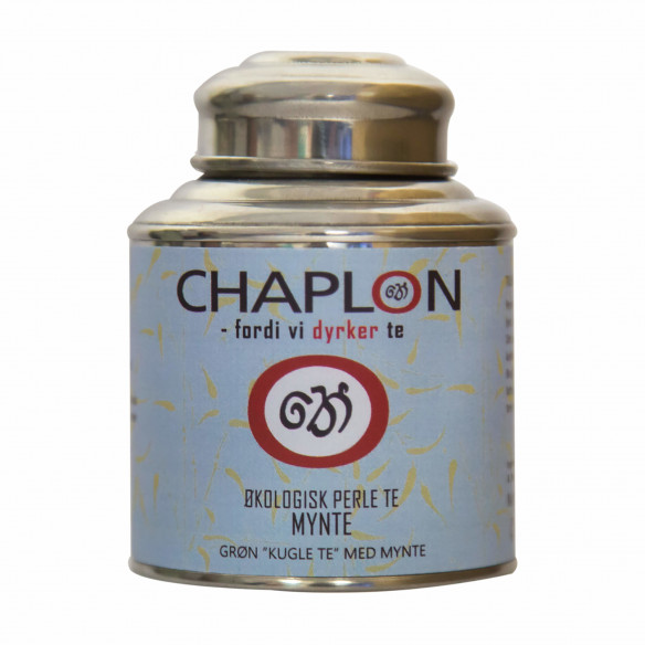 Chaplon Grøn Mynte Perle Te, 80 gram