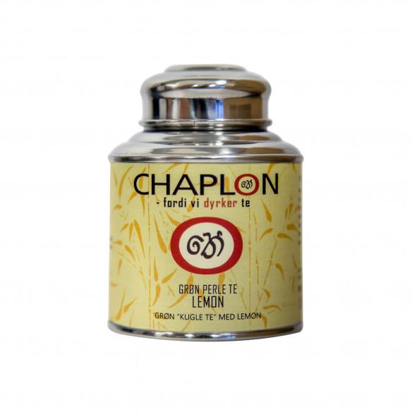 Chaplon Grøn Perle Te Lemon, 80 gram