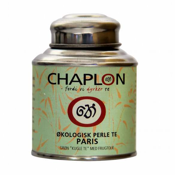 Chaplon Grøn Perle Te Paris, 80 gram