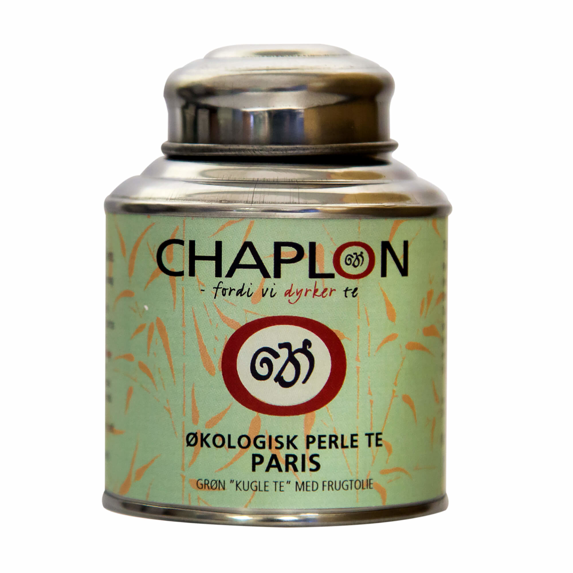 Image of   Chaplon Grøn Perle Te Paris, 80 gram