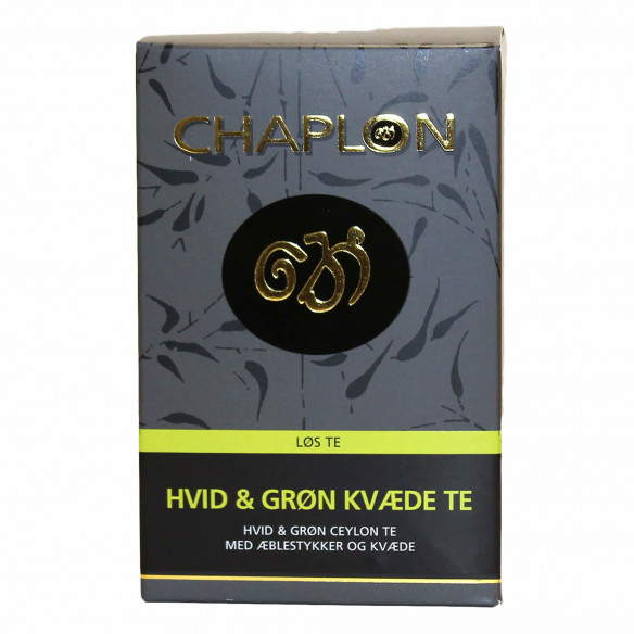 Chaplon Hvid & Grøn Kvæde Te, 100 gram løs te