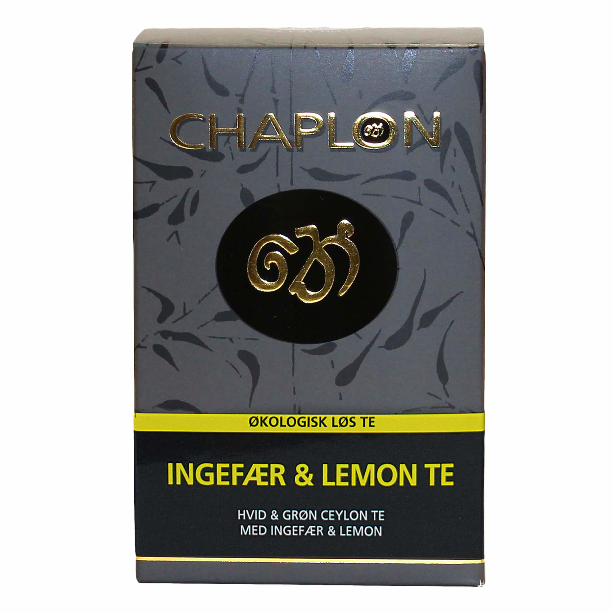 Image of   Chaplon Ingefær & Lemon Te, 100 gram løs te