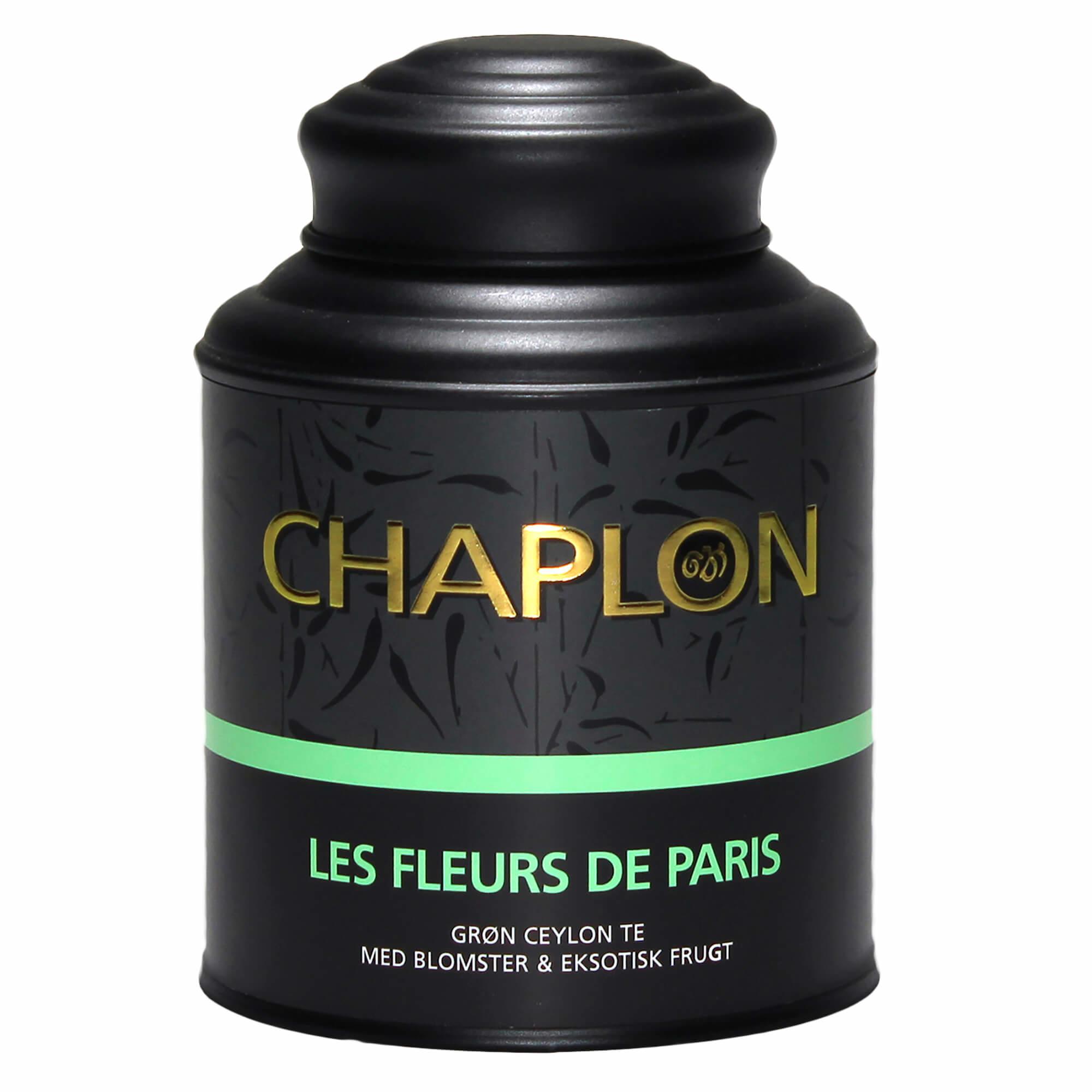 Image of   Chaplon Les fleurs de Paris Te - 160 gram dåse