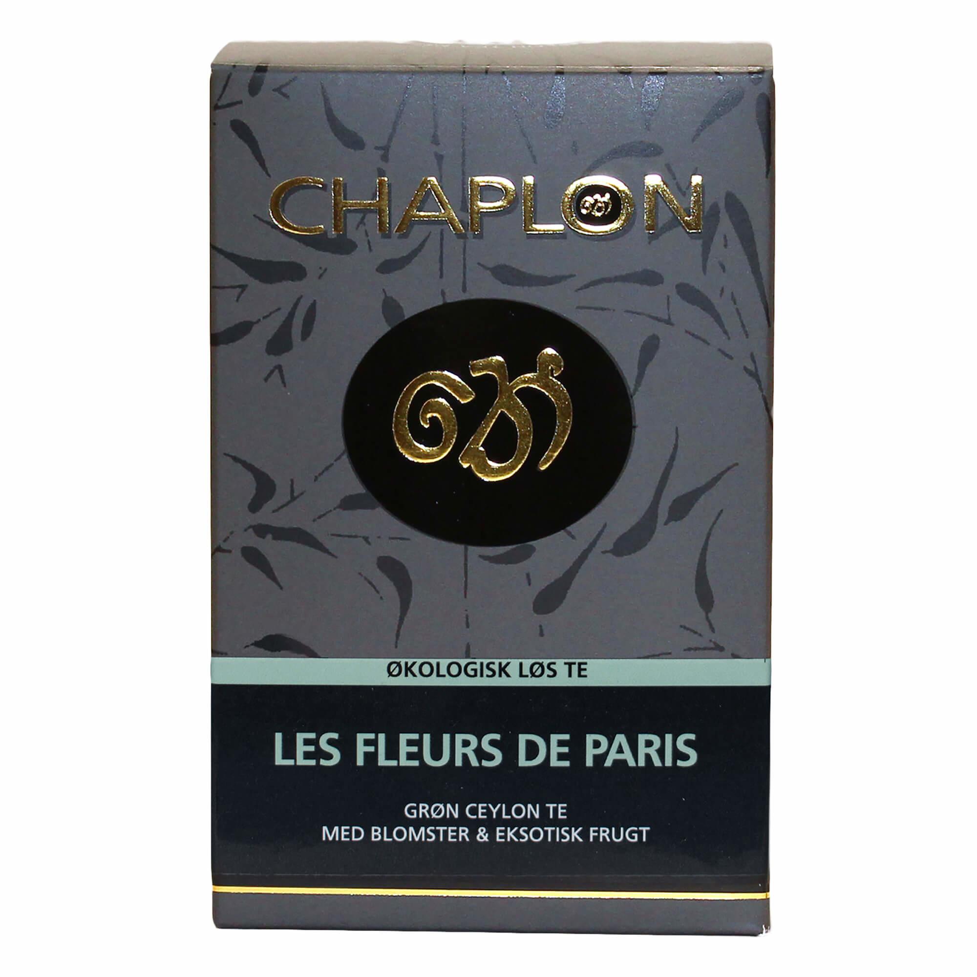 Image of   Chaplon Les fleurs de Paris Te, 100 gram