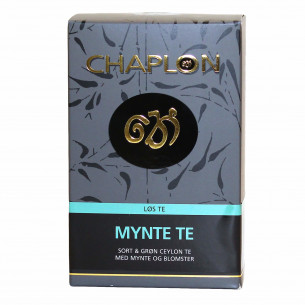 Mynte te te Chaplon Tea i refill æske