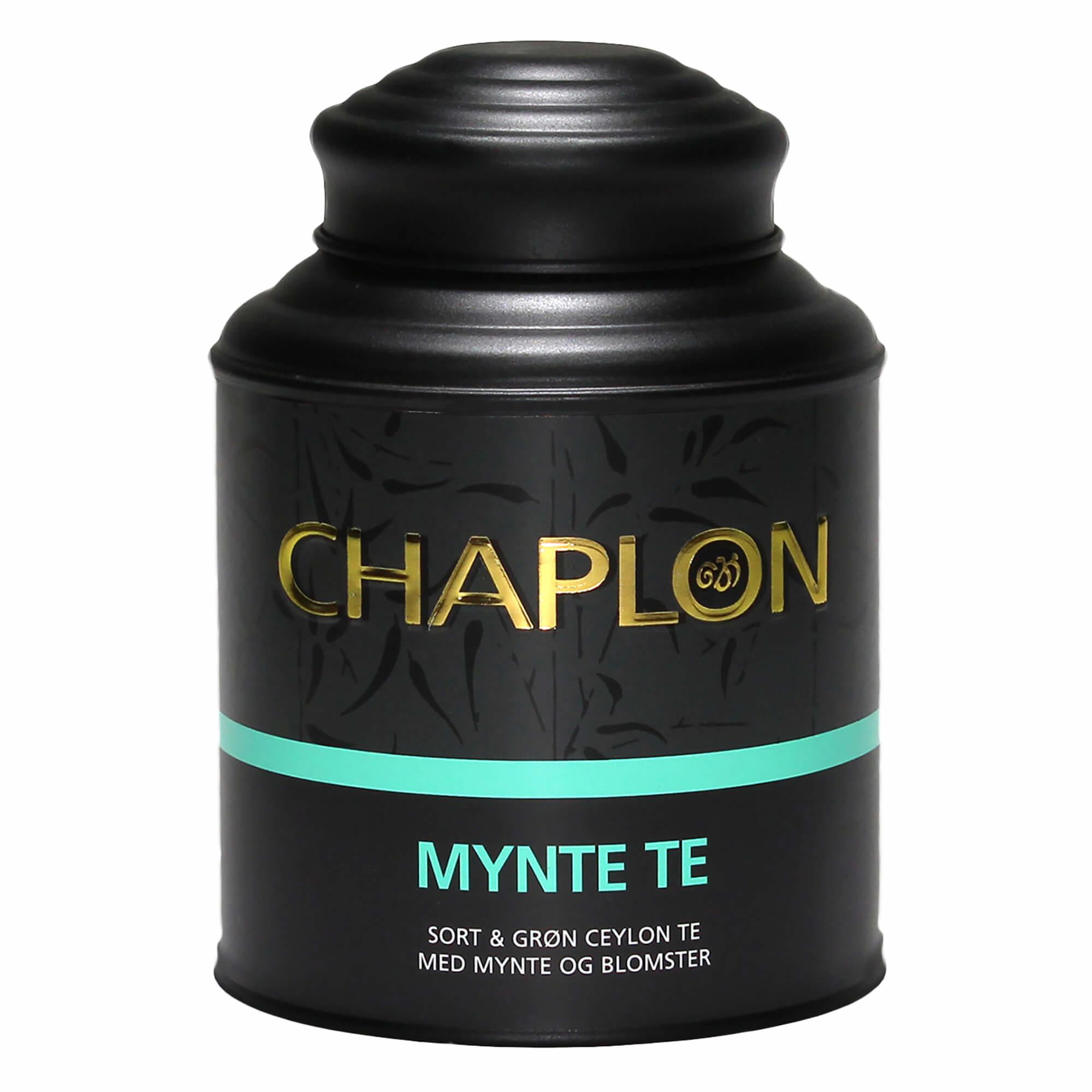 Image of   Chaplon Mynte Te - 160 gram dåse