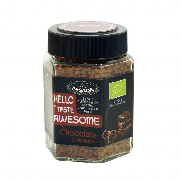 Chocolate instant økologisk kaffe - 50 gram