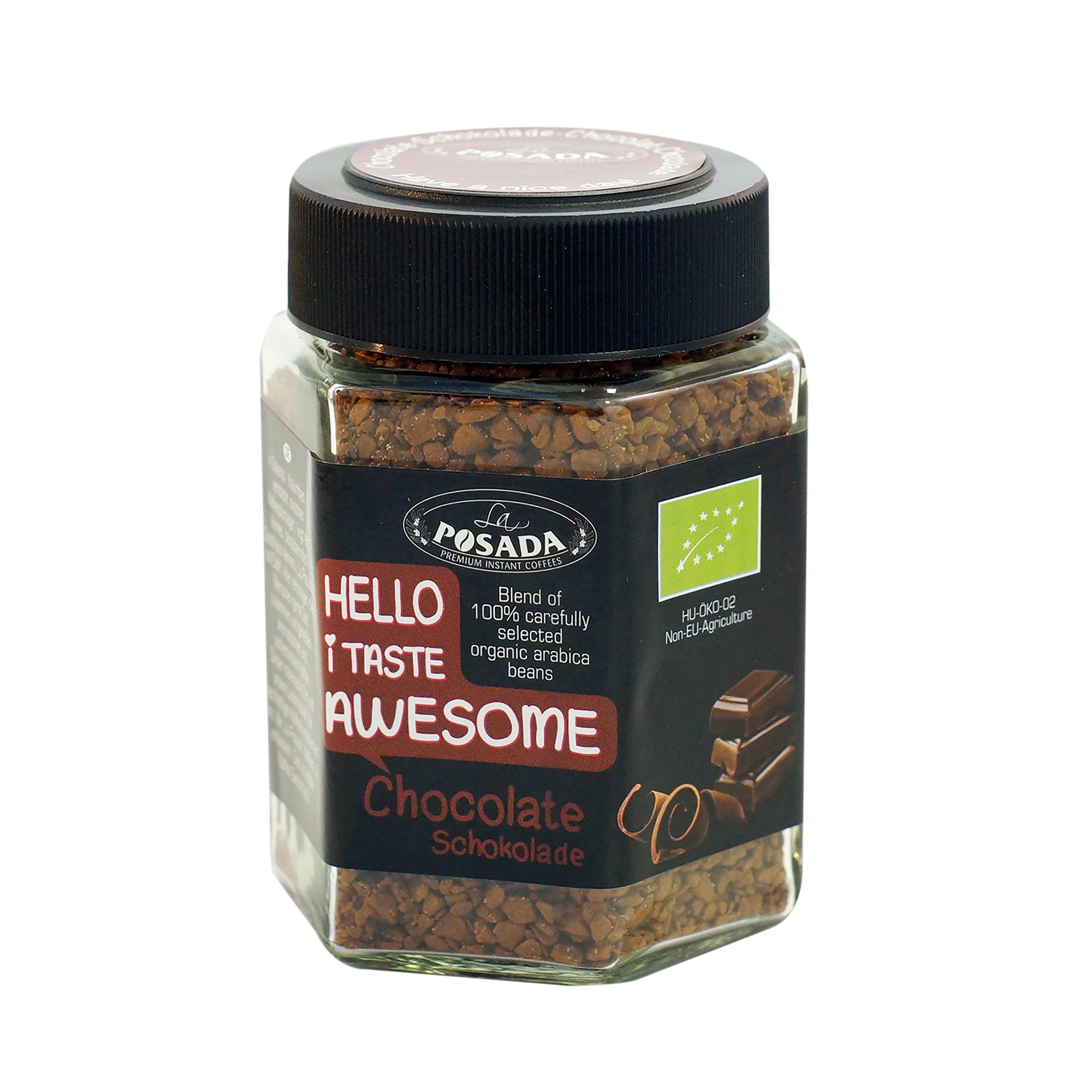 Image of   Chocolate instant økologisk kaffe - 50 gram