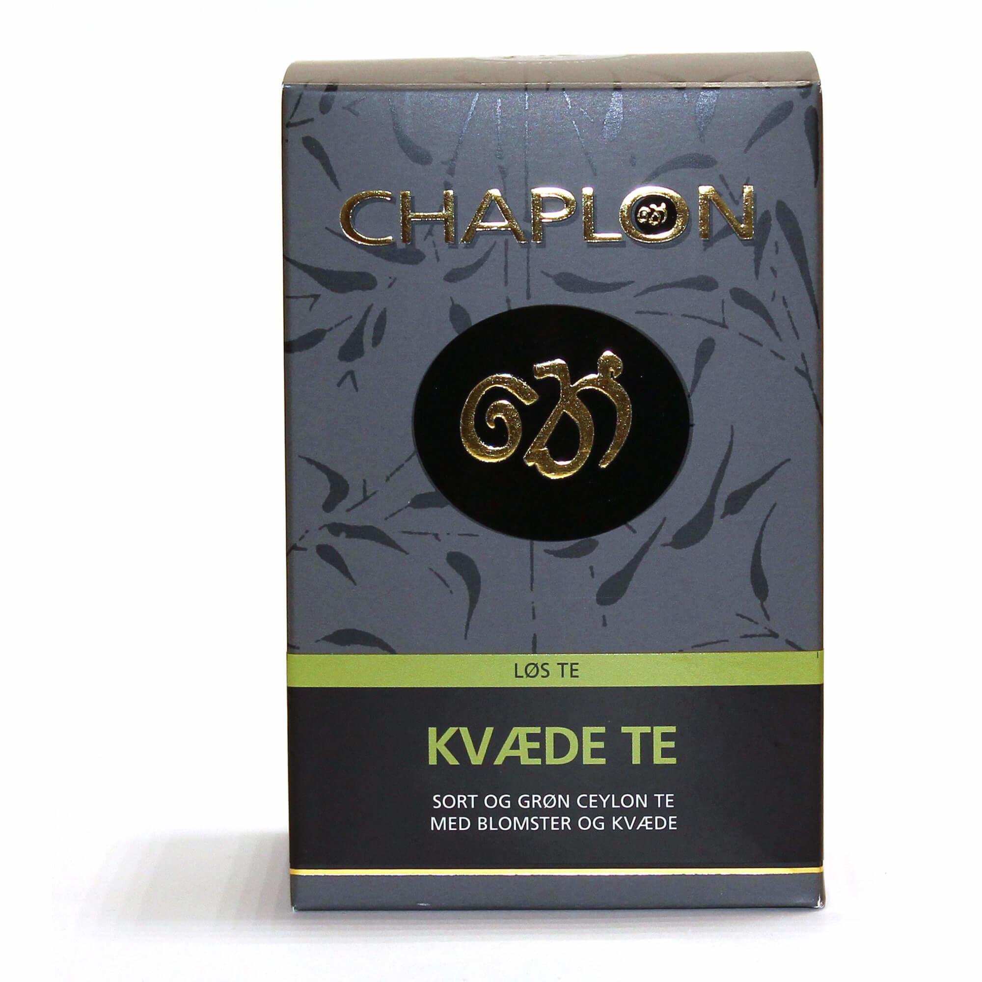 Image of   Chaplon Grøn & Sort Kvæde Te - 100 gram løs te