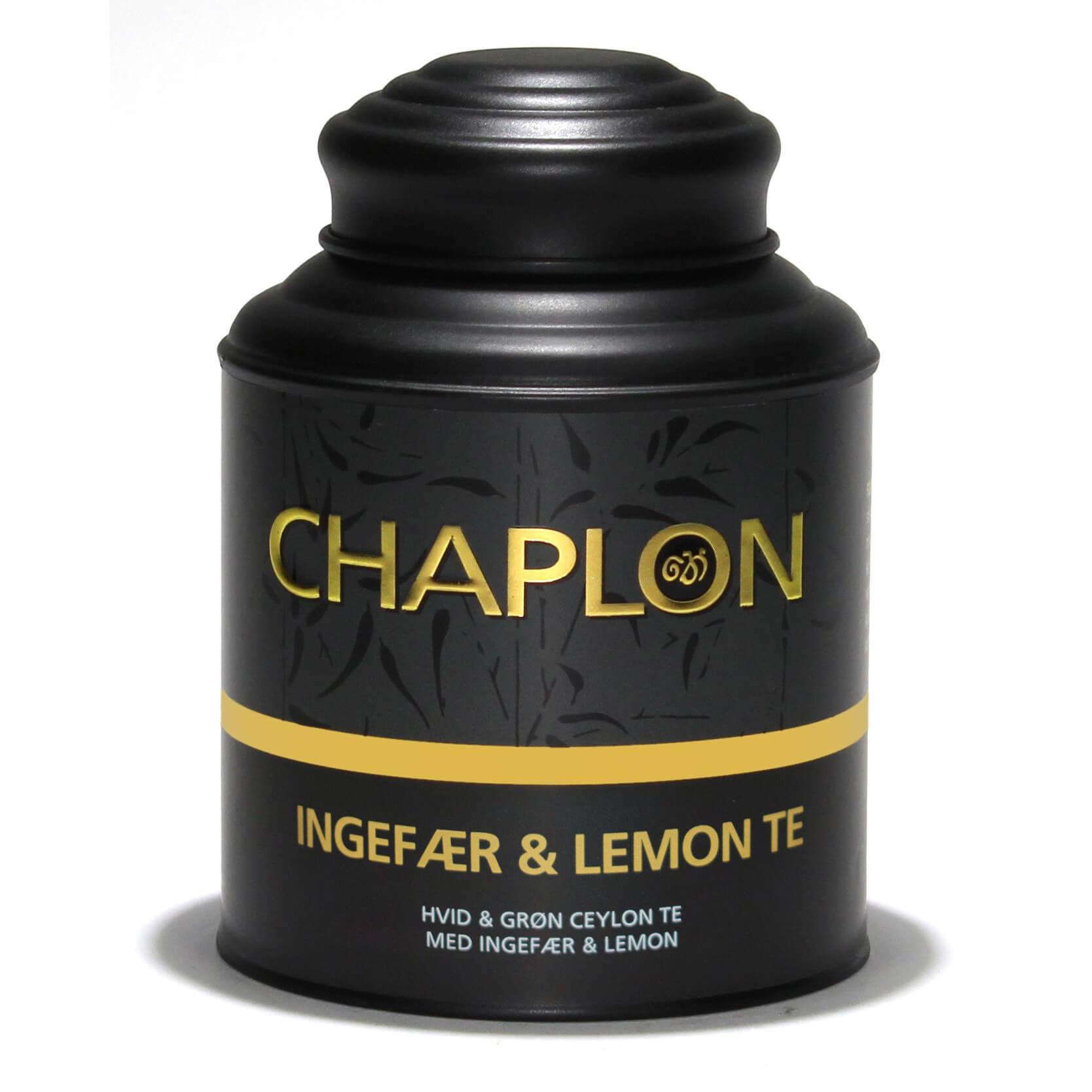 Image of   Chaplon Ingefær & Lemon Te - 160 gram dåse