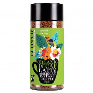 Decaf Latin American Instant kaffe fra Clipper