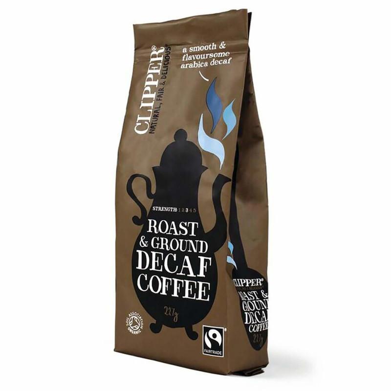 Decaf Roast malet kaffe fra Clipper