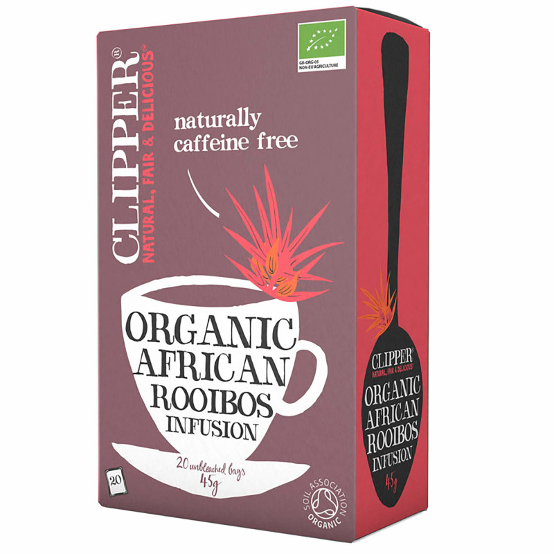 Økologisk rooibos infusion te fra Clipper