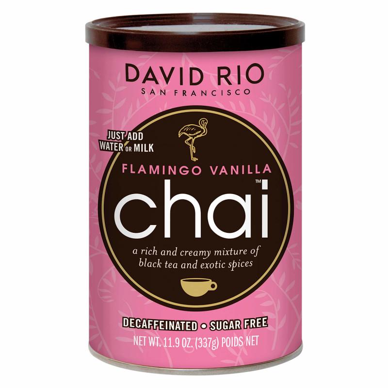 Flamingo Vanilla Chai fra David Rio - 337 gram.