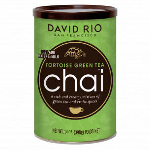 Tortoise Green Tea Chai fra David Rio, 398 gram.