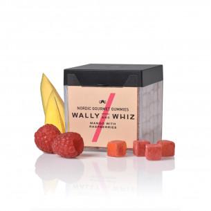 Vingummi med mango og hindbær fra Wally and Whiz