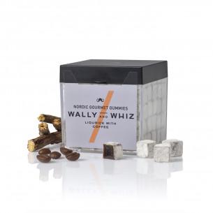 Vingummi med lakridt og kaffe fra Wally and Whiz