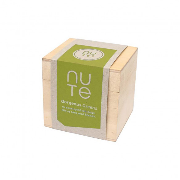 Gorgeous Greens gaveæske, 10 breve - NUTE