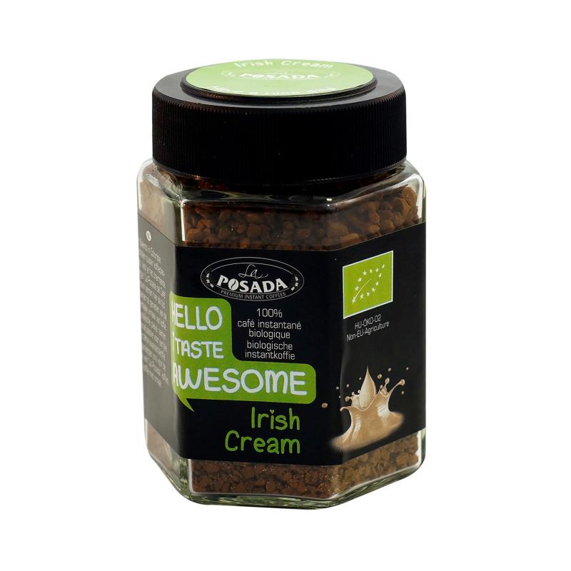 Irish Cream økologisk instant kaffe fra La Posada