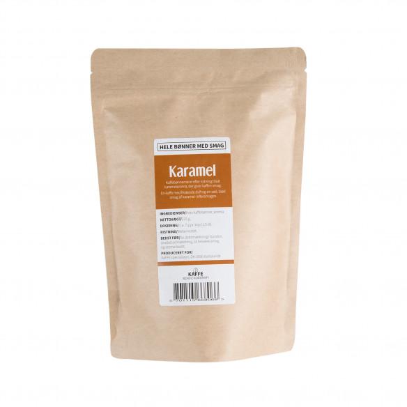 Kaffebønner - Karamel smag, 225 gram