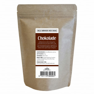 Hele kaffebønner med chokolade smag fra KAFFE Specialisten