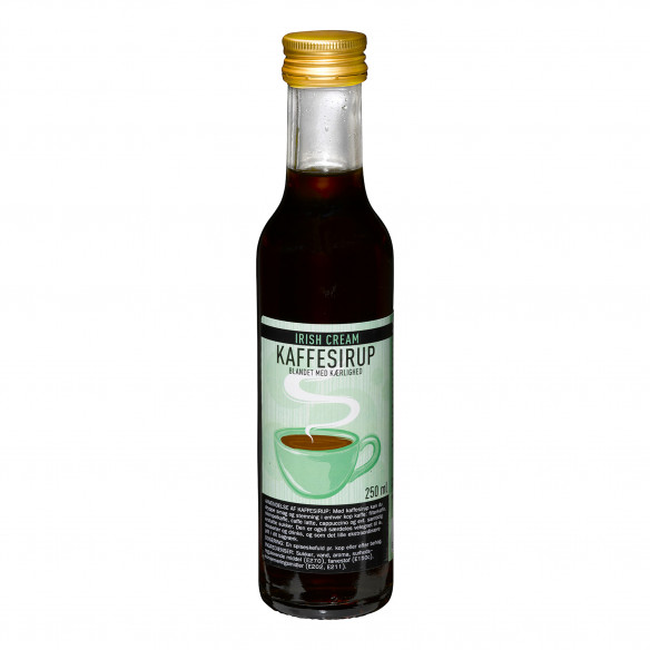 Kaffesirup - Irish Cream, 250 ml
