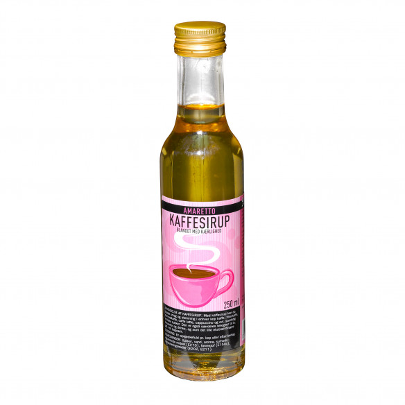 Kaffesirup - Amaretto, 250 ml