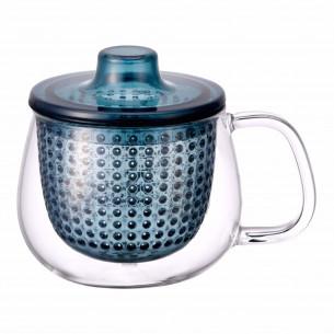 UNIMUG lille tekop med blåt filter fra Kinto