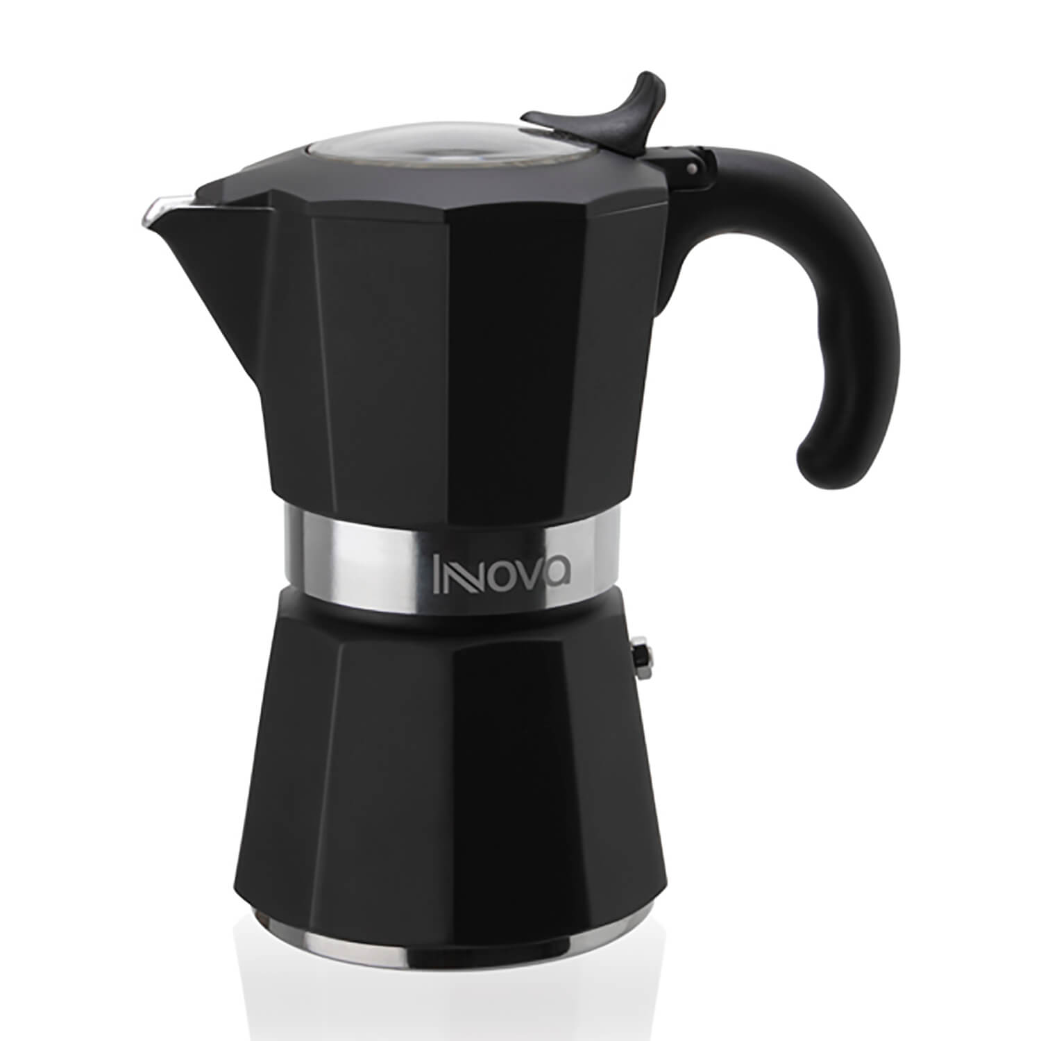 Miss Innova espressokande – sort – 6 kopper