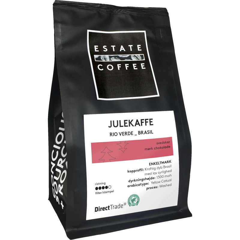 Rio Verde hele kaffebønner julekaffe fra Estate Coffee