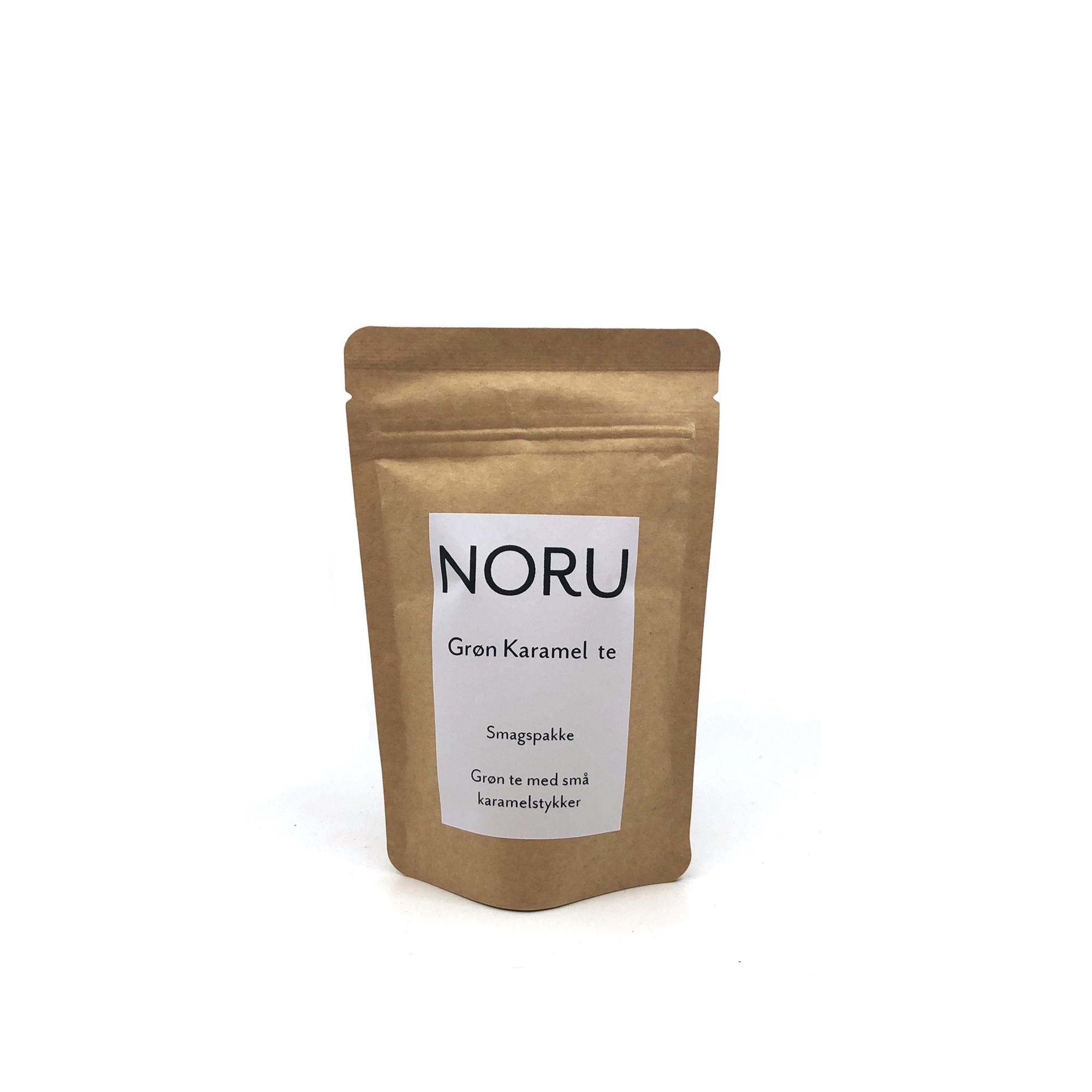 Billede af NORU, Grøn Karamel te - smagsprøve