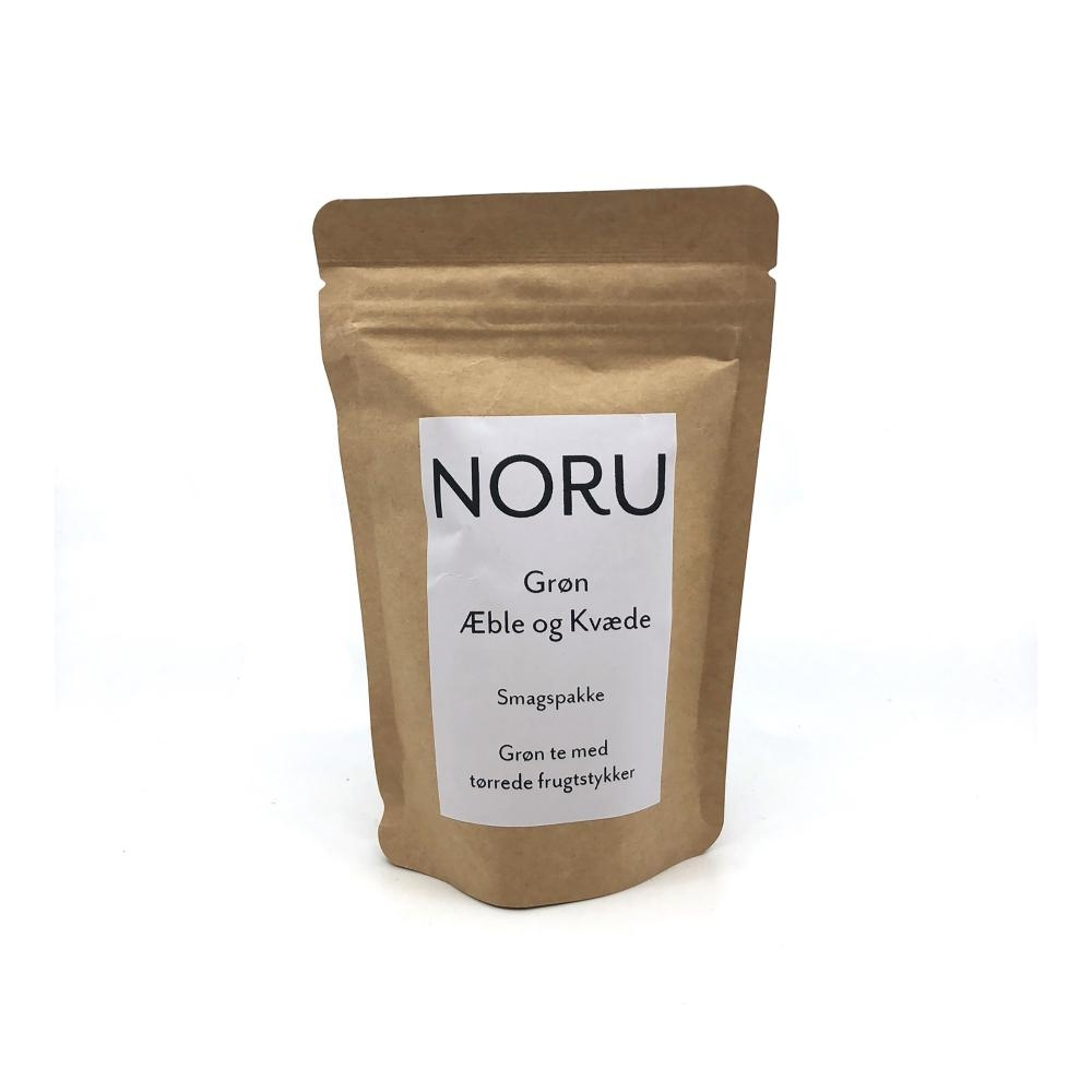 Billede af NORU, Grøn Æble & Kvæde te - smagsprøve