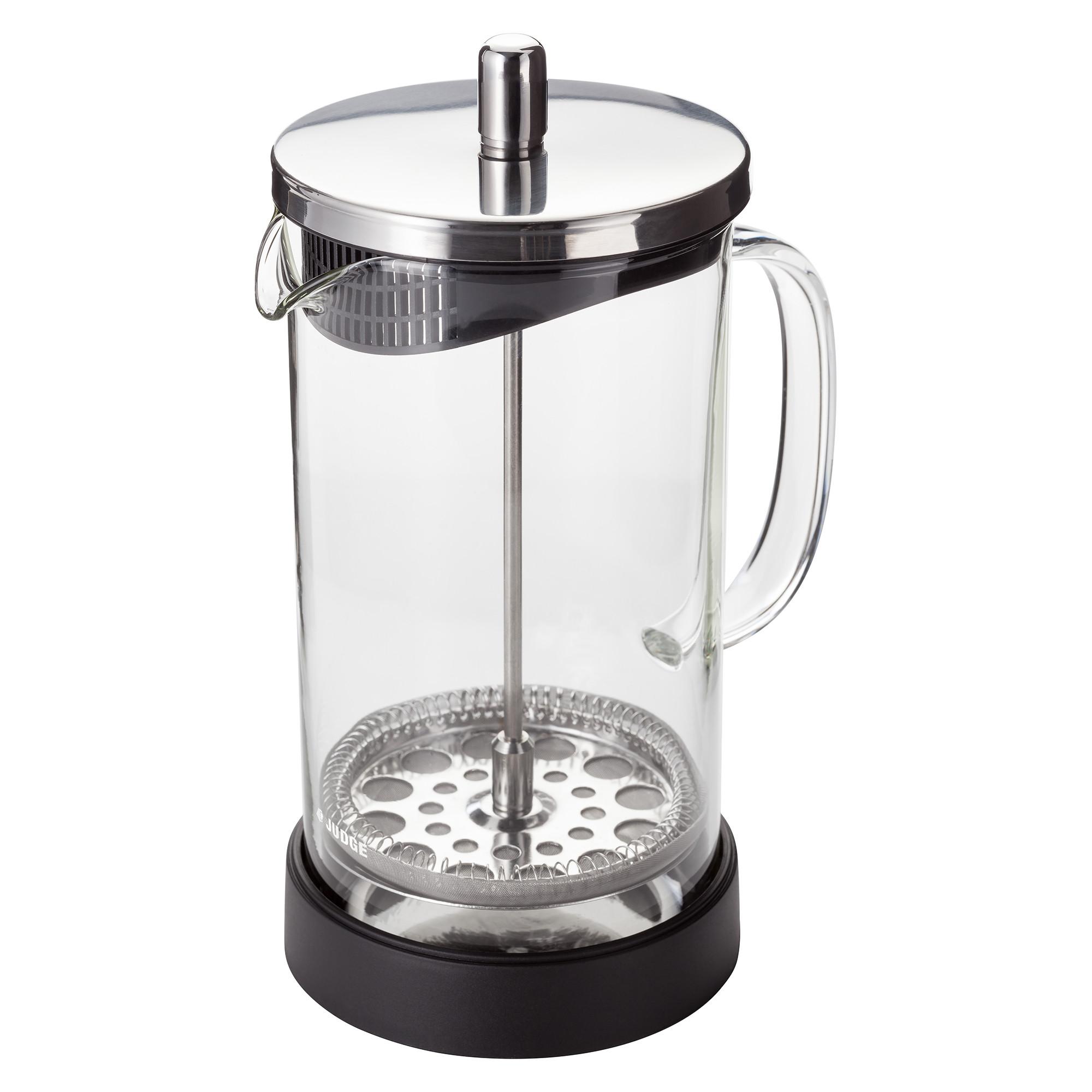 Cafetiere stempelkande, glas - 8 kopper