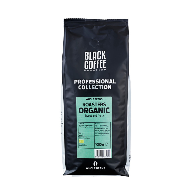 Black Coffee Roasters Organic, 1 kg