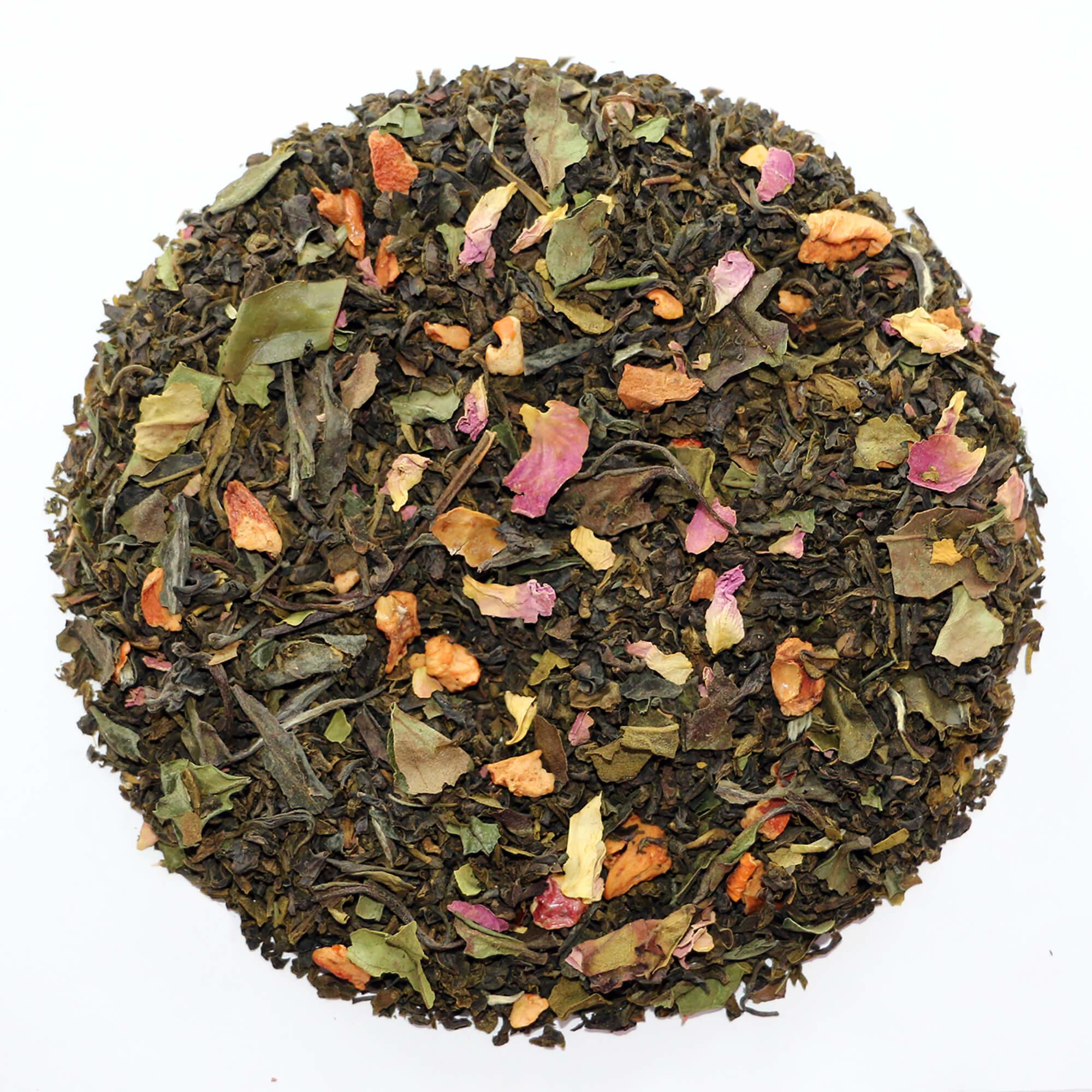 Image of   Chaplon Hvid & Grøn Kvæde Te, 700 gram løs te