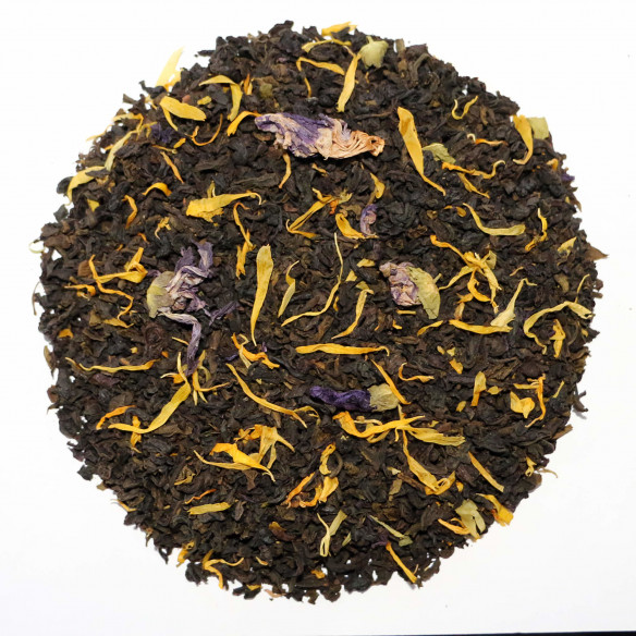 Chaplon Grøn & Sort Kvæde Te - 700 gram løs te