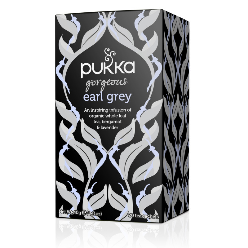 Gorgeus Earl Grey fra Pukka, 20 tebreve