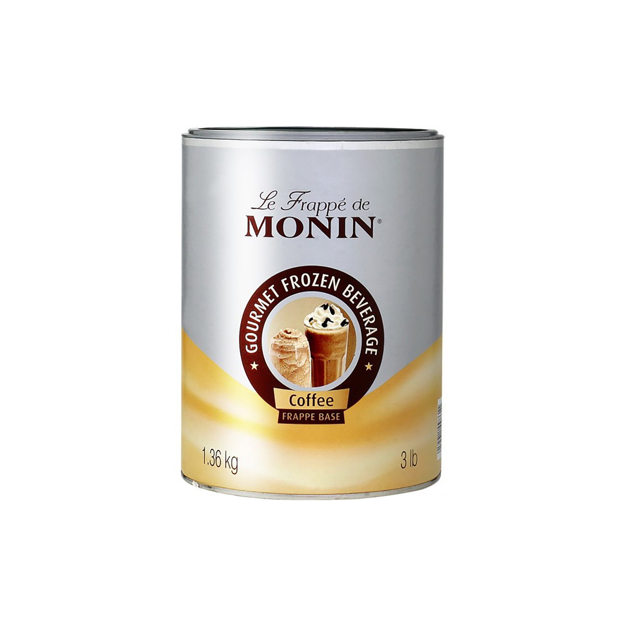 Monin Frappé Base, Kaffe - 1,36 kg