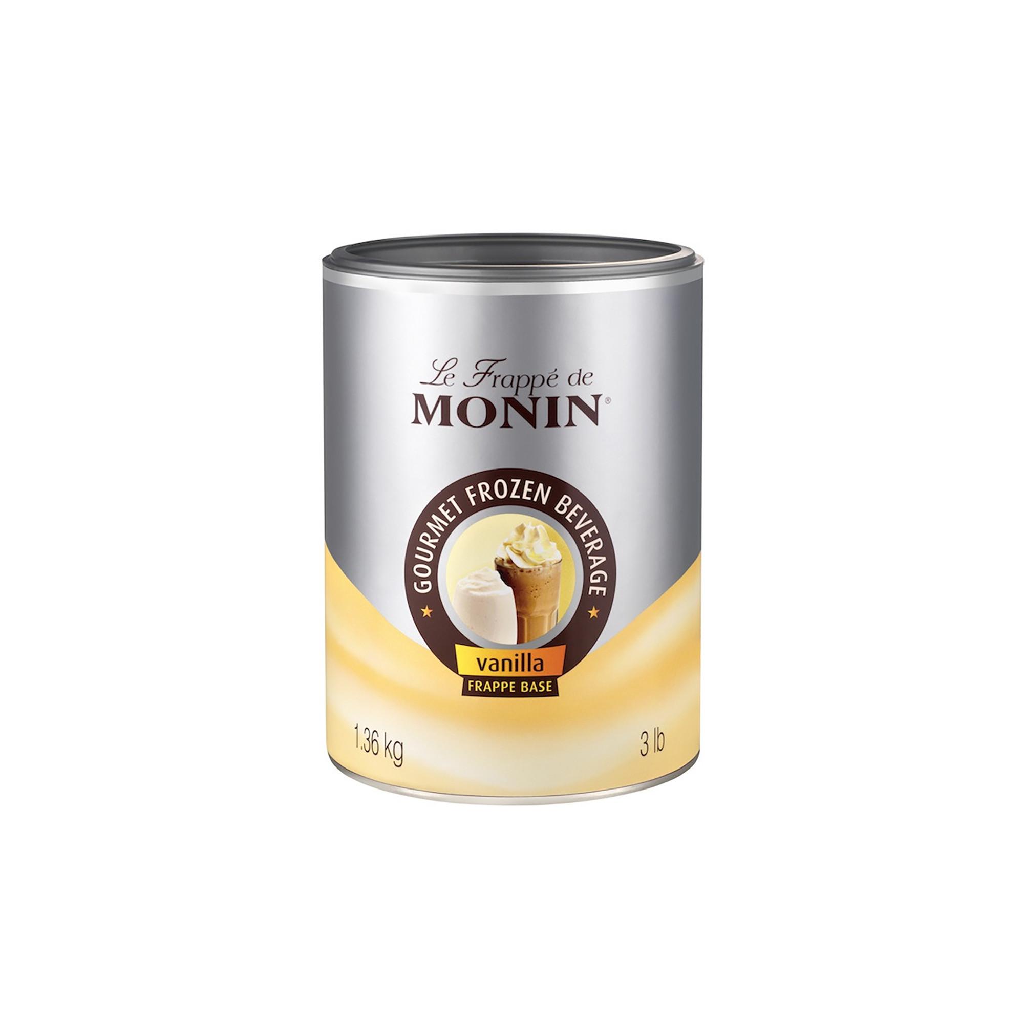 Monin Frappé Base, Vanilla - 1,36 kg