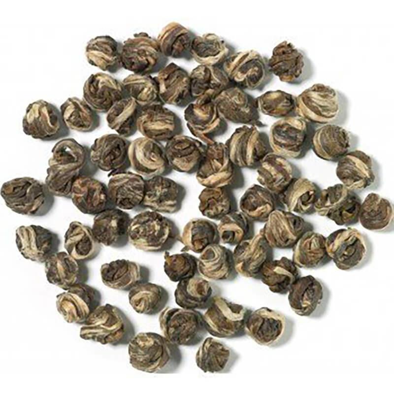 Silvery Jasmin Pearls fra Chaplon Tea