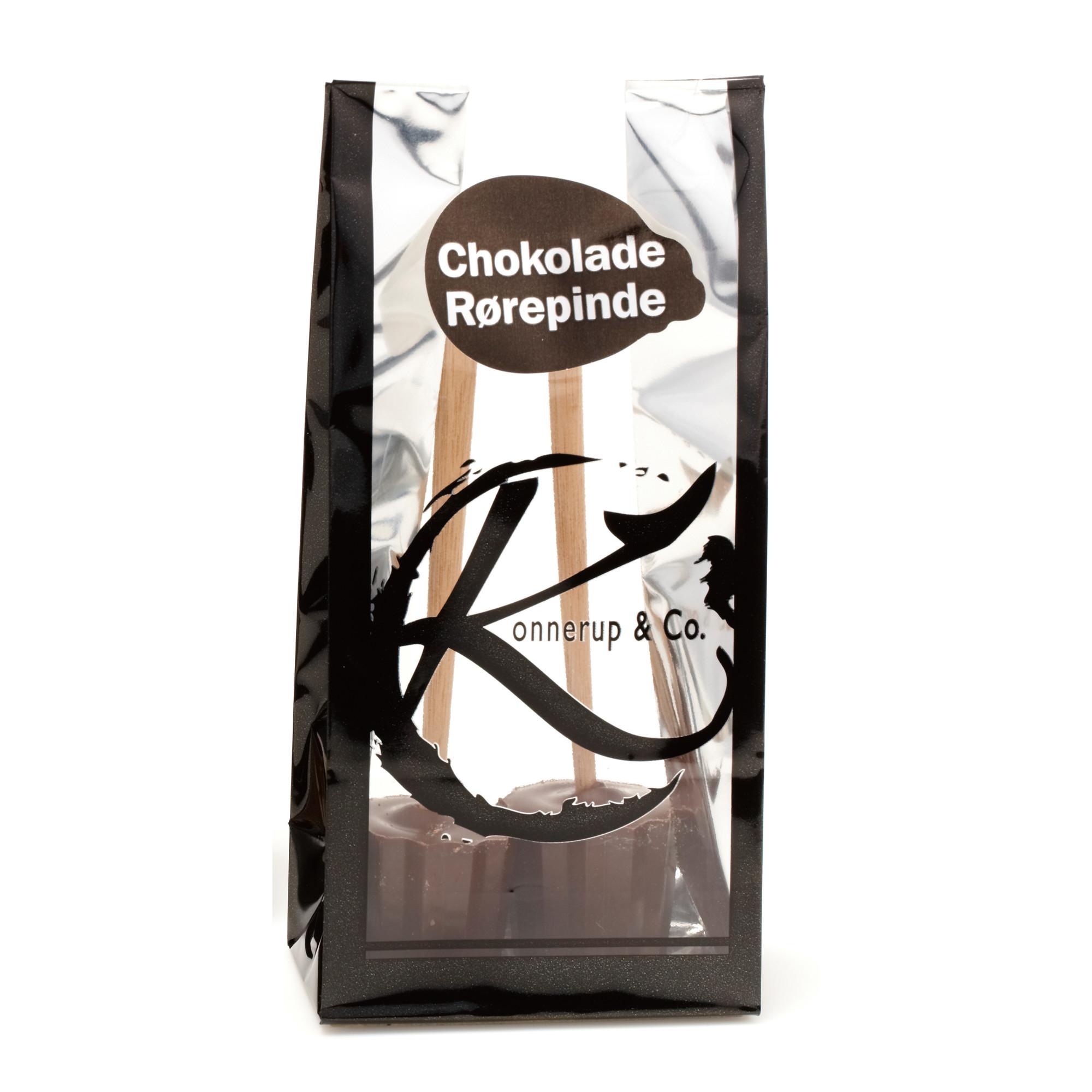 Image of   Chokolade Rørepinde Mørk, 2 stk.