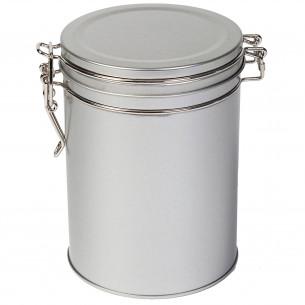 Rund Sølv Dåse - 200 gram