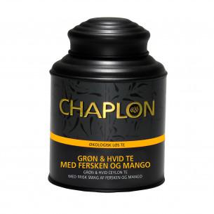 Chaplon Grøn & Hvid Te Fersken & Mango
