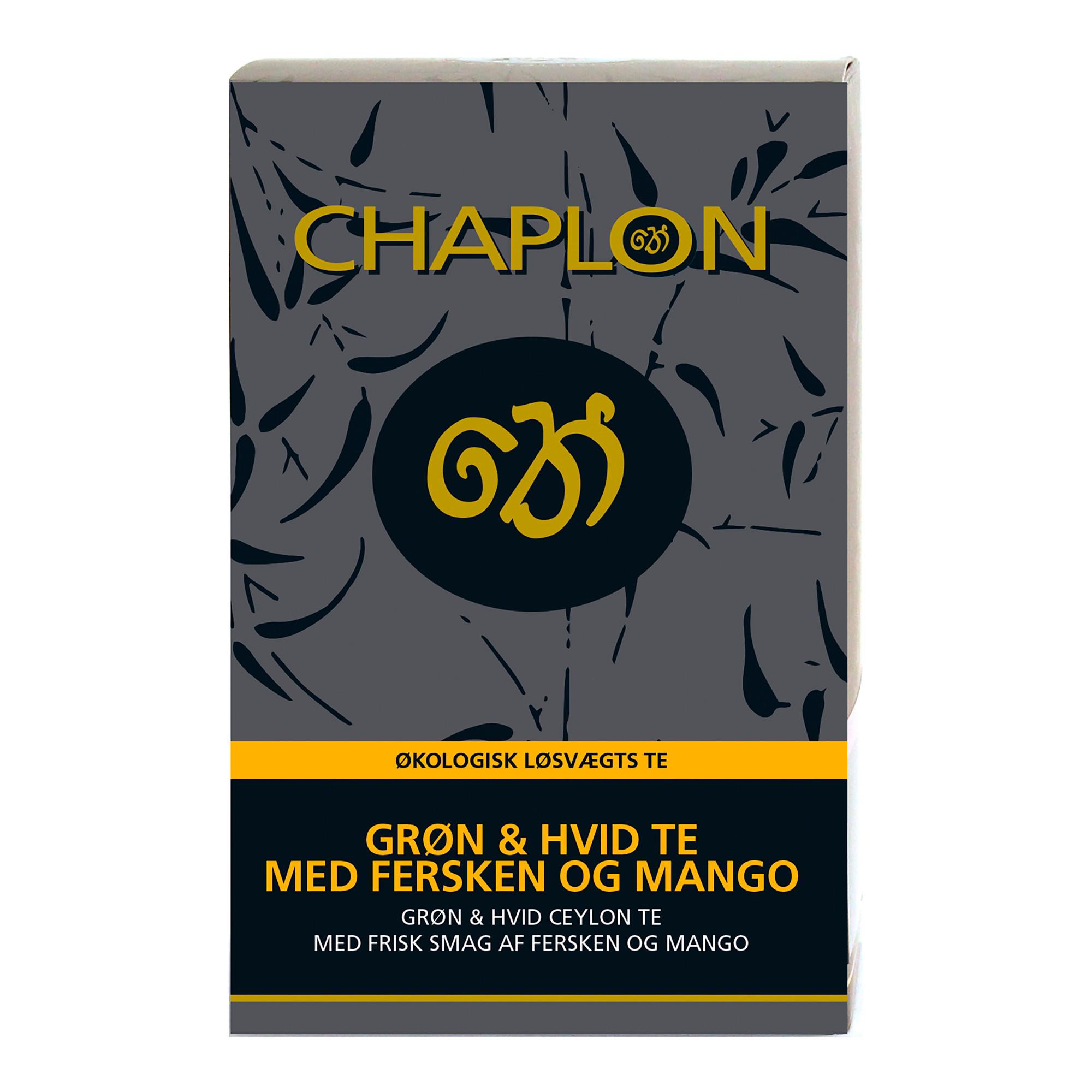 Image of   Chaplon Fersken & Mango, 100 gram løs te
