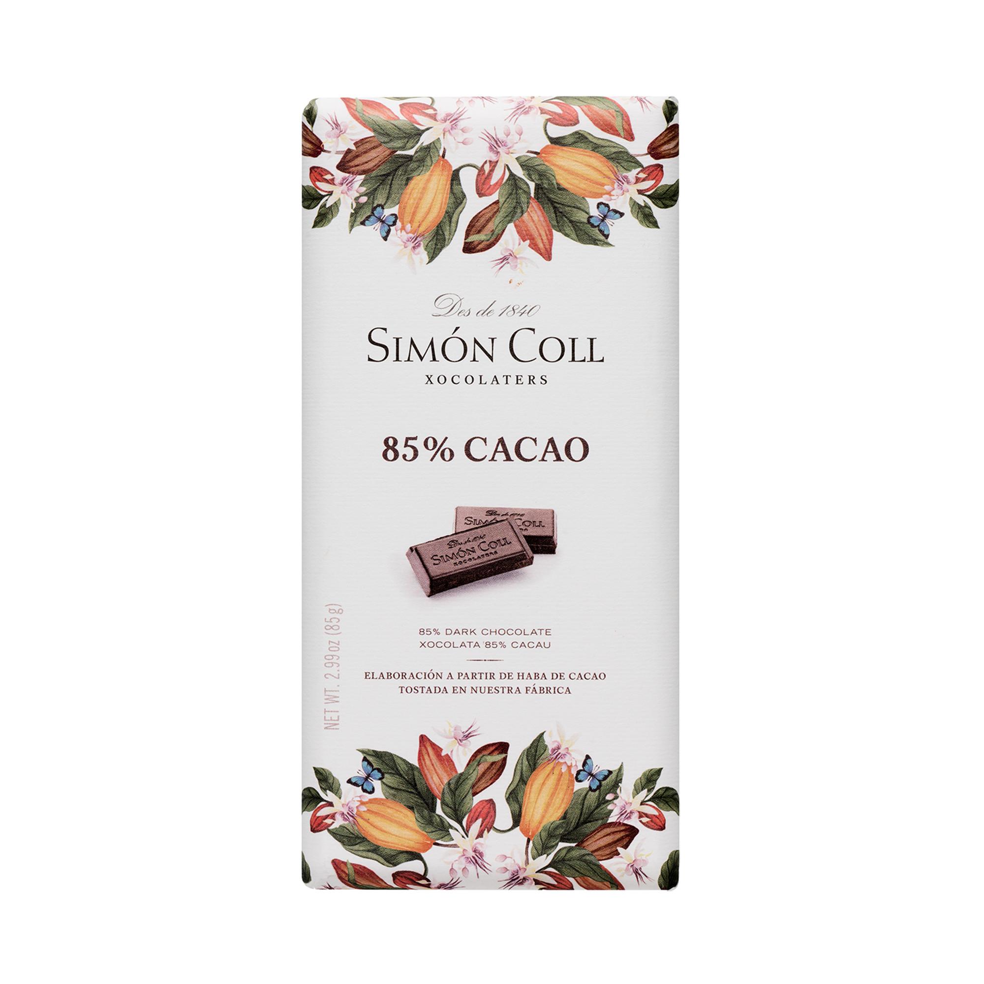 Image of   85% Mørk Chokolade - 85 gram