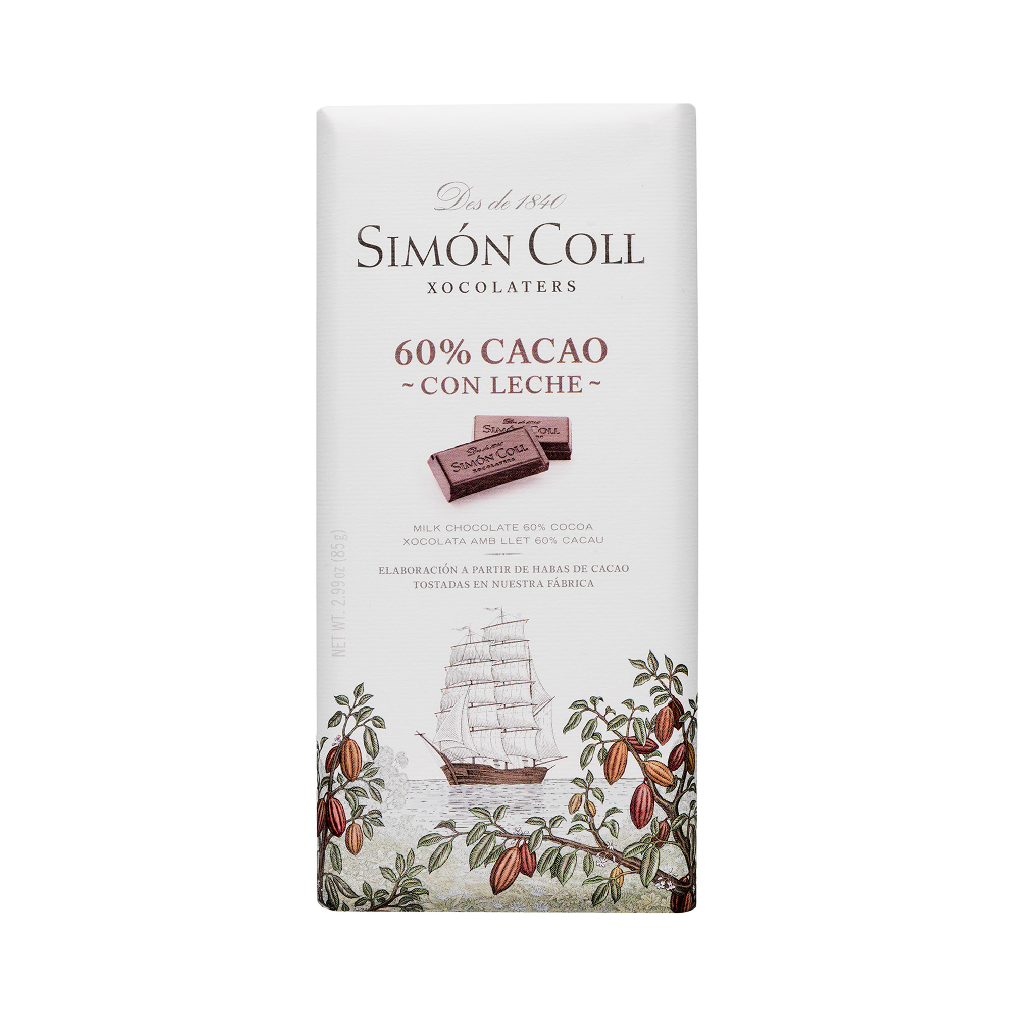 Image of   60% Mælkechokolade - 85 gram